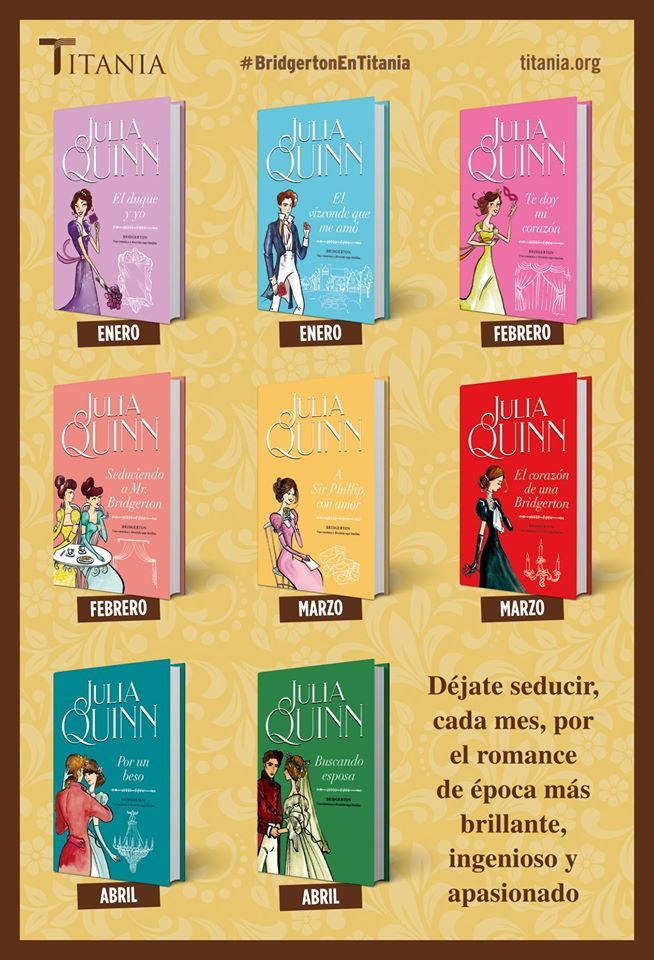 Portadas de Novelas Romanticas - Página 22 Bridgerton-reedicion