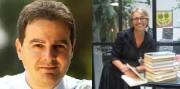 Iginio Straffi y Silvia Brena