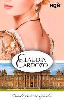 Claudia Cardozo - Cuando ya no te esperaba