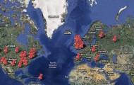Mapa de novelas románticas