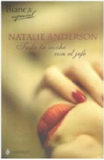 Natalie Anderson - Toda la noche con el jefe