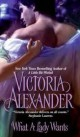 Victoria Alexander - What a lady wants